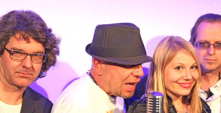 starcover showband im TubeRecords Tonstudio in Hamburg